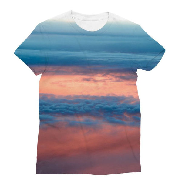 Cyclone In The Clouds Sublimation T-Shirt S Apparel