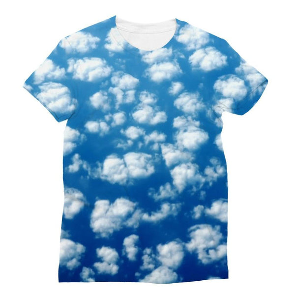 Cyclone In The Clouds Sublimation T-Shirt Xs Apparel