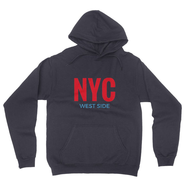 NYC West Side California Fleece Pullover Hoodie