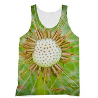 Dandelion Flower Sublimation Vest Xs Apparel