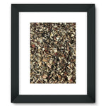 Dead Laves On Ground Autumn Framed Fine Art Print 12X16 / Black Wall Decor
