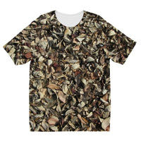Dead Laves On Ground Autumn Kids Sublimation T-Shirt 3-4 Years Apparel