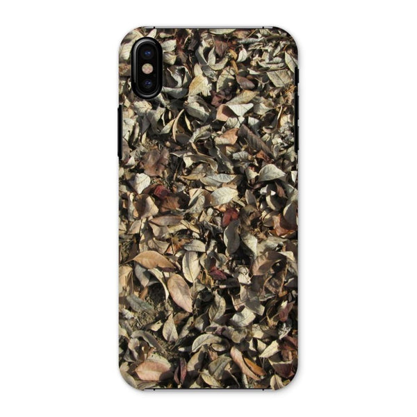 Dead Laves On Ground Autumn Phone Case Iphone X / Snap Gloss & Tablet Cases
