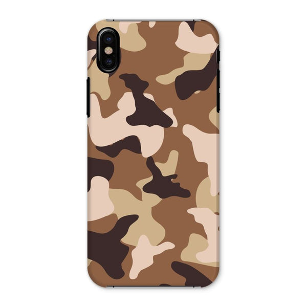 Desert Camo Sand Phone Case Iphone X / Snap Gloss & Tablet Cases