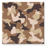 Desert Camo Sand Stretched Eco-Canvas 10X10 Wall Decor