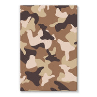 Desert Camo Sand Stretched Eco-Canvas 24X36 Wall Decor