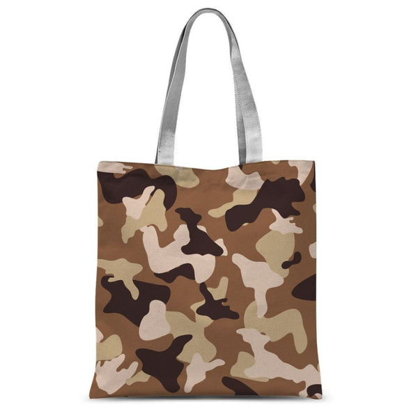 Desert Camo Sand Sublimation Tote Bag 15X16.5 Accessories