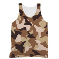 Desert Camo Sand Sublimation Vest Xs Apparel