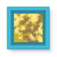 Desert Camouflage Pattern Magnet Frame Light Blue Homeware