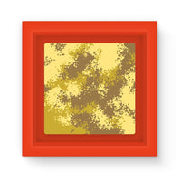Desert Camouflage Pattern Magnet Frame Red Homeware