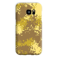 Desert Camouflage Pattern Phone Case Galaxy S7 / Snap Gloss & Tablet Cases