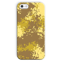 Desert Camouflage Pattern Phone Case Iphone 5/5S / Snap Gloss & Tablet Cases