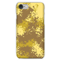 Desert Camouflage Pattern Phone Case Iphone 8 / Snap Gloss & Tablet Cases