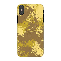 Desert Camouflage Pattern Phone Case Iphone X / Tough Gloss & Tablet Cases