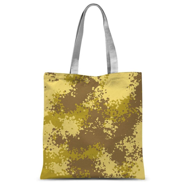 Desert Camouflage Pattern Sublimation Tote Bag 15X16.5 Accessories