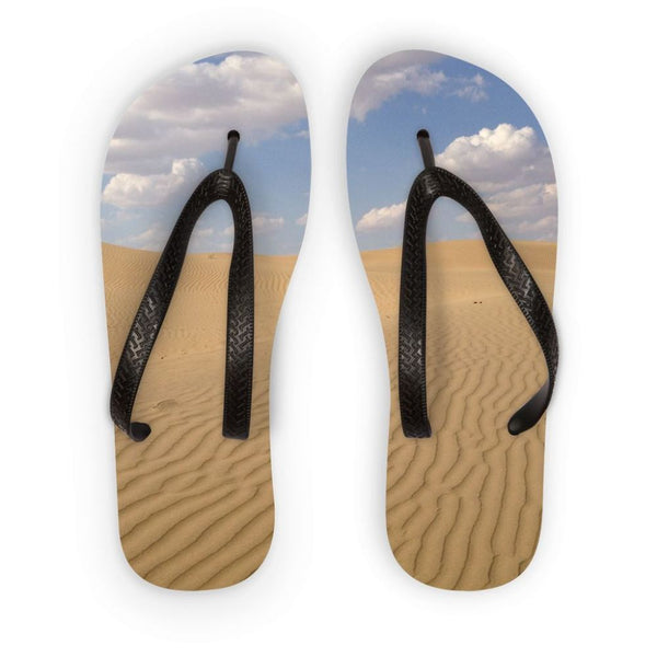 Desert Day View Flip Flops S Accessories