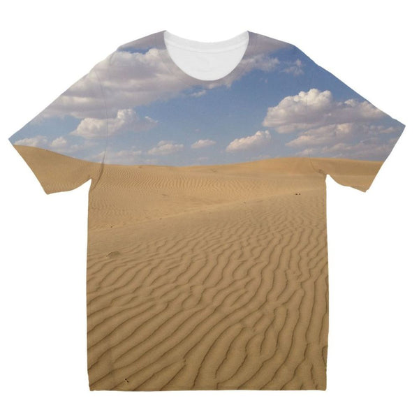 Desert Day View Kids Sublimation T-Shirt 3-4 Years Apparel