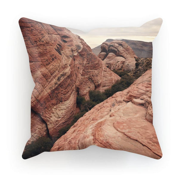 Desert Mountain Cushion Linen / 12X12 Homeware