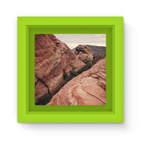 Desert Mountain Magnet Frame Green Homeware