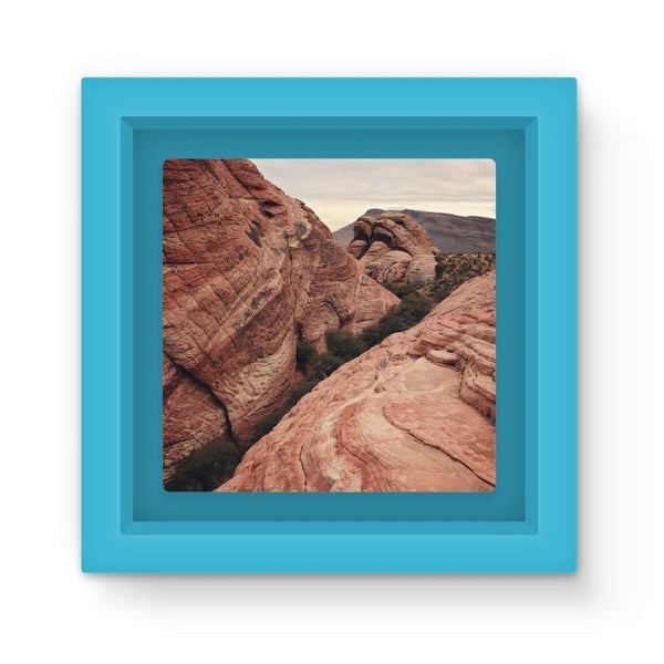 Desert Mountain Magnet Frame Light Blue Homeware