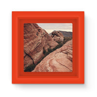 Desert Mountain Magnet Frame Red Homeware