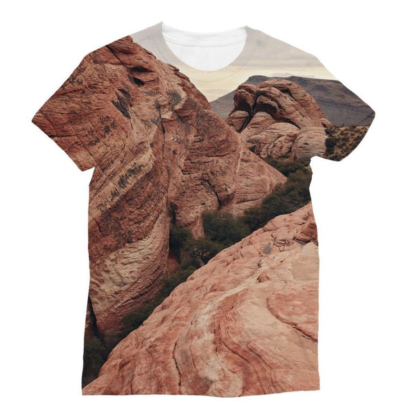 Desert Mountain Sublimation T-Shirt Xs Apparel