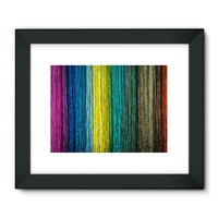 Different Color Expression Framed Fine Art Print 32X24 / Black Wall Decor