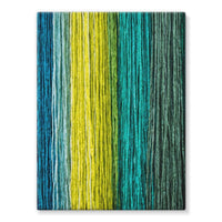 Different Color Expression Stretched Canvas 12X16 Wall Decor