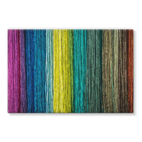 Different Color Expression Stretched Canvas 36X24 Wall Decor