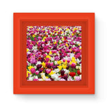 Different Tulips In Holland Magnet Frame Red Homeware