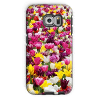 Different Tulips In Holland Phone Case Galaxy S6 Edge / Tough Gloss & Tablet Cases