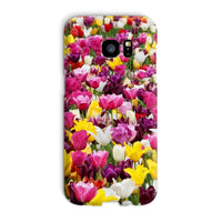 Different Tulips In Holland Phone Case Galaxy S7 Edge / Snap Gloss & Tablet Cases
