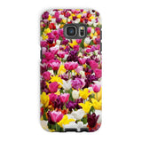 Different Tulips In Holland Phone Case Galaxy S7 Edge / Tough Gloss & Tablet Cases