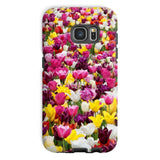 Different Tulips In Holland Phone Case Galaxy S7 / Tough Gloss & Tablet Cases