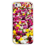 Different Tulips In Holland Phone Case Iphone 5C / Snap Gloss & Tablet Cases