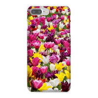 Different Tulips In Holland Phone Case Iphone 8 Plus / Snap Gloss & Tablet Cases