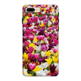 Different Tulips In Holland Phone Case Iphone 8 Plus / Tough Gloss & Tablet Cases