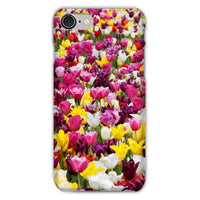 Different Tulips In Holland Phone Case Iphone 8 / Snap Gloss & Tablet Cases