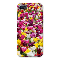 Different Tulips In Holland Phone Case Iphone 8 / Tough Gloss & Tablet Cases