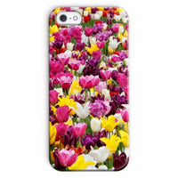Different Tulips In Holland Phone Case Iphone Se / Snap Gloss & Tablet Cases