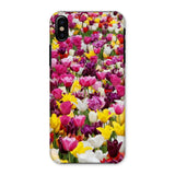 Different Tulips In Holland Phone Case Iphone X / Snap Gloss & Tablet Cases