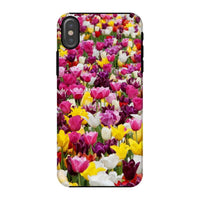 Different Tulips In Holland Phone Case Iphone X / Tough Gloss & Tablet Cases