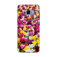 Different Tulips In Holland Phone Case Samsung S8 Plus / Tough Gloss & Tablet Cases
