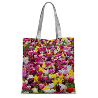 Different Tulips In Holland Sublimation Tote Bag 15X16.5 Accessories