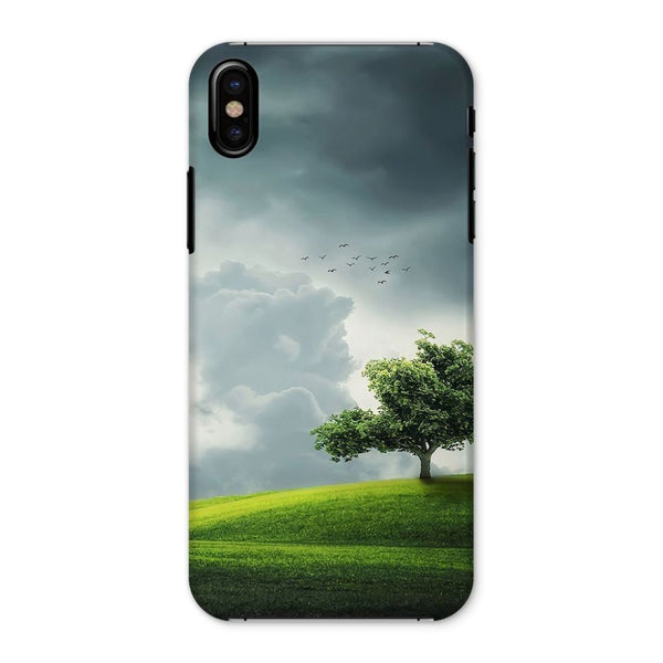 Dramatic Summer Thunderstorm Phone Case Iphone X / Snap Gloss & Tablet Cases