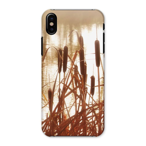 Dry Bushes Near The River Phone Case Iphone X / Snap Gloss & Tablet Cases