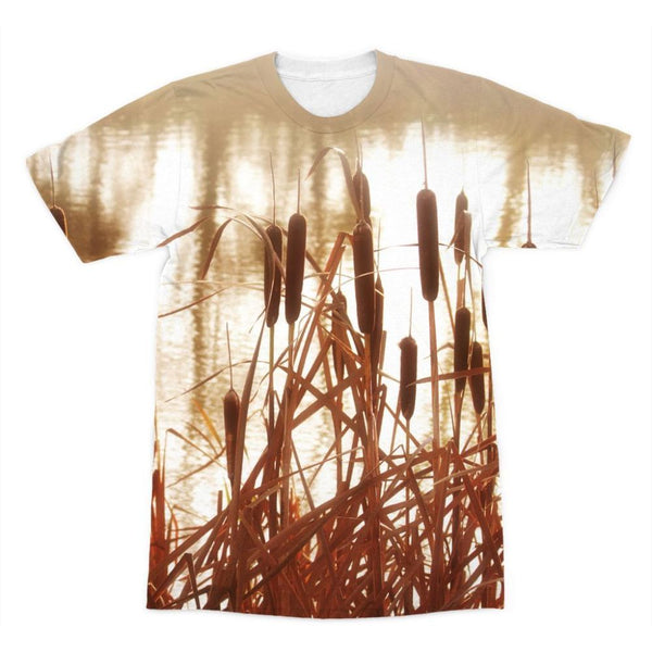 Dry Bushes Near The River Sublimation T-Shirt Xs Apparel