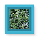 Early Morning Dew On Grass Magnet Frame Light Blue Homeware