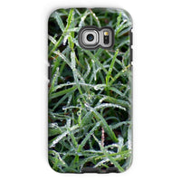 Early Morning Dew On Grass Phone Case Galaxy S6 Edge / Tough Gloss & Tablet Cases