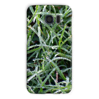 Early Morning Dew On Grass Phone Case Galaxy S6 / Snap Gloss & Tablet Cases